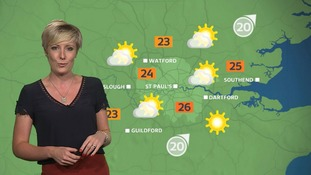Weather: Sunny spells possible by the afternoon