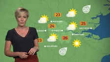 Weather: Sunny spells possible by the afternoon.
