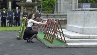 SoS Theresa Villiers has visited the Irish Government's Somme commemorations.