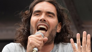 Russell Brand is going to be a dad