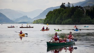 Swallows and Amazons at Derwent Water Regatta