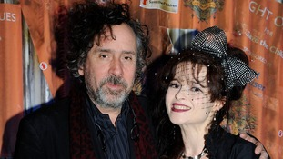 File photo of Tim Burton and Helena Bonham Carter.