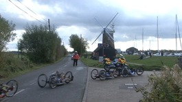 Soldiers' cycle ride