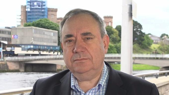 Alex Salmond appears on Peston on Sunday.