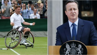 Prime Minister among famous faces to congratulate Wimbledon champion Hewett