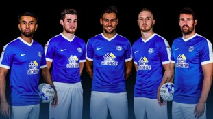 Peterborough United have unveiled their new home kit.
