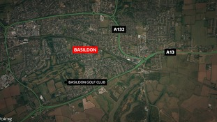 The crash happened on the A13 in Basildon.