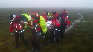 Elderly walker rescued from Cheviot Hills
