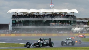 Lewis Hamilton wins British GP