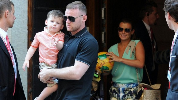 Wayne Rooney As A Kid Wayne and Coleen Rooney expecting second child ITV News