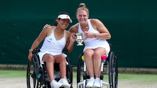 Wimbledon champion Jordanne Whiley corrects Prime Minister