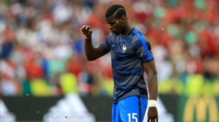 France were equally affected as Paul Pogba fended off the flapping creatures.