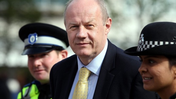 The Justice Minister Damian Green