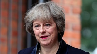 Theresa May launches leadership bid in Birmingham