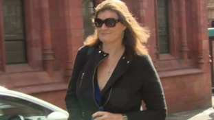 Nikki Sinclaire outside of court