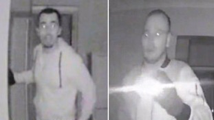 CCTV video showing burglars scoping a home in south London for valuables released by police