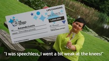 Amanda Lewis (49) from Featherstone bagged £1,000,000 in the EuroMillions Millionaire Maker prize draw.