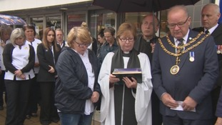 Darlington bus crash: Vigil held to remember victim