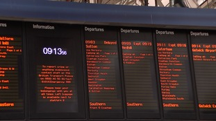 Just 82% of Southern Trains on time in new emergency timetable.