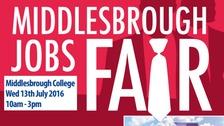 Middlesbrough Jobs Fair poster