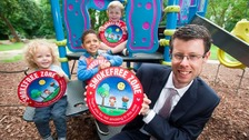 Deputy city mayor Cllr Rory Palmer pictured promoting the smoke-free scheme.