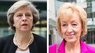 The final contest was between Theresa May and Andrea Leadsom.