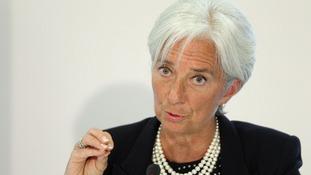 Christine Lagarde, International Monetary Fund managing director