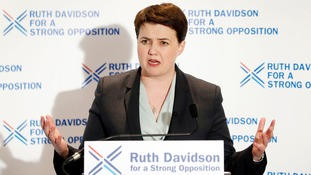 Scottish Conservative leader Ruth Davidson led the party to their best ever performance at Holyrood.