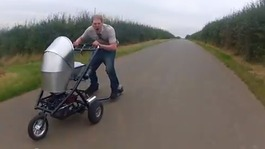 Colin Furze and his Mega Pram