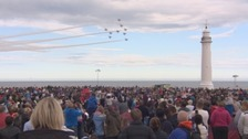 The Red Arrows wowed crowds last year