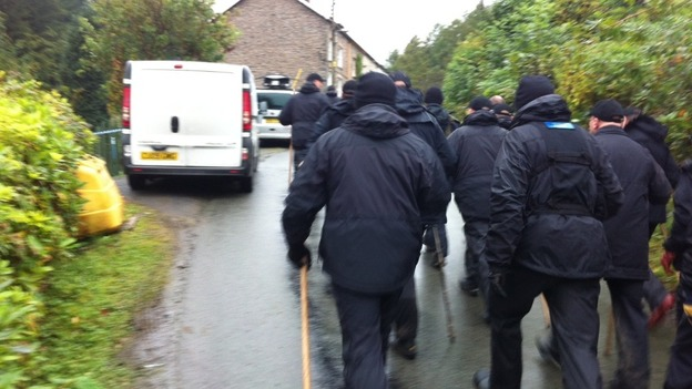 Find April: Specialist police search teams head off with sticks to continue looking for April