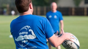 49-year-old Mark Orr is taking part in a free 12 week rugby based programme that's helping men to lose weight