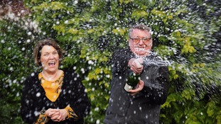 Judy and Frank Whitmore, from Tockwith, North Yorkshire,
