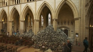 Truro Cathedral gets 'rubbish' makeover that's dividing opinion