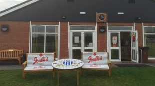 'Very distinctive' benches stolen from football club