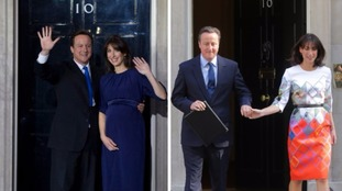 David and Samantha Cameron arrived at Downing Street in May 2010 and will depart after six years and two months.