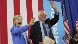 Bernie Sanders has endorsed is former rival Hillary Clinton.