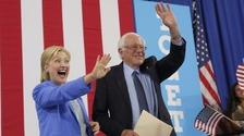 Bernie Sanders has endorsed is former rival Hillary Clinton.