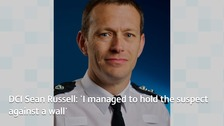 Detective Chief Inspector Sean Russell stepped in after seeing the attacker armed with a knife in Coventry