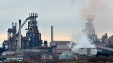 The Port Talbot steelworks