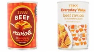 Beef Ravioli and Macaroni Cheese recalled over fears they contain rubber