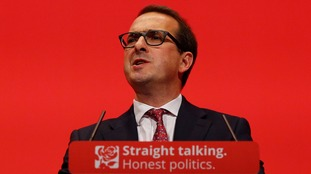 Owen Smith, speaking at the Labour Party conference in 2015.