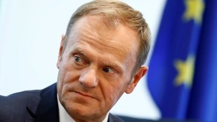 Donald Tusk: UK and EU to remain 'closest of allies' following their 'divorce'