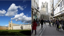 Cambridge has been named the best place to work in the UK.