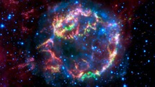 Image of exploded star