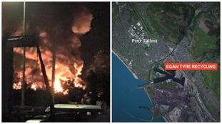 Port Talbot fire