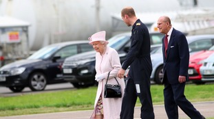 The Queen will be shown around by Prince William.