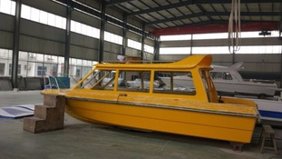 Manchester is to launch its own water taxis called Waxis