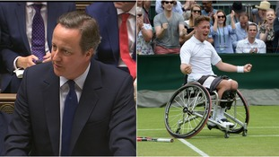 Cameron congratulates Wimbledon champion Hewett on 'stunning' win during last PMQs