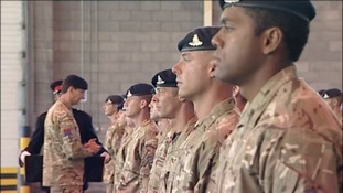Returning soldiers honoured after Afghanistan tour of duty